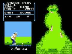 【TAS】NES ゴルフ 04:58.49