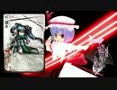 スカーレット姉妹と霊夢&魔理沙で桜降る代に決闘を(その5後半)