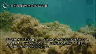 【0018】日本海溝から回収された文書