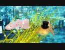 MMD>踊る新婚ウーパールーパー(「アパラチアの春」)