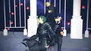 【MMDワンピ】ライアーダンス【剣士とコッ