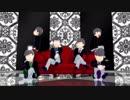 【MMDおそ松さん】松二期放送前にトリオ名を復習!/ライア―ダンス