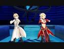 【fate/mmd】セイバーリリィ&モードレッドに恋ダンスを踊らせてみた