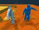 物理演算で動く3D相撲ゲーム 3