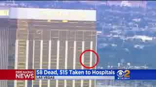 LVのホテル32Fから銃乱射、58人死亡515人