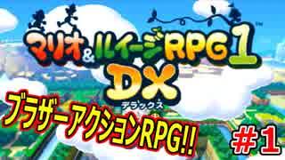 【マリオ&ルイージRPG1 DX】ブラザーアク