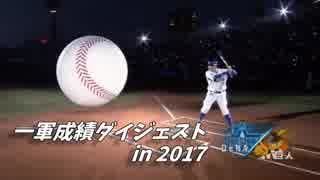 横浜DeNAベイスターズ 2017年シーズン成績ダイジェスト