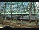 【倍速】 朝のJR過密ダイヤ定点撮影