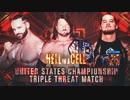 【WWE】AJスタイルズ vs バロン・コービン vs タイ・デリンジャー【HIAC17】