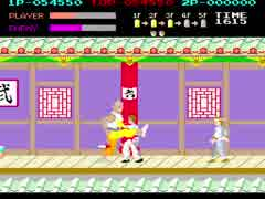 [TAS] Arcade Kung-Fu Master (スパルタン