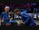 【テニス】フェデラーを必死に応援するラファエル・ナダルさん
