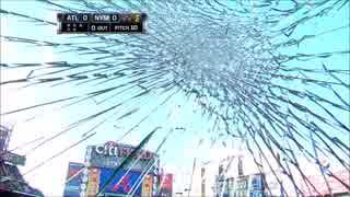 【MLB】メジャーの打球が色々破壊したり直撃したりするんで集