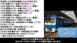 名/迷列車で行こう京成エリア編 4直ダイヤ