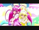 【MMDプリキュア】キュアハッピーとキュアピースでメランコリック