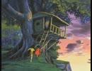 未来少年コナン 16話 二人の小屋