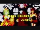 【MMD花騎士】ペポとリベッチオで仲良くHappy Halloween【MMD艦これ】