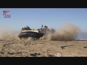 [Dawn Blitz 2017] Land Self-Defense Force landing training