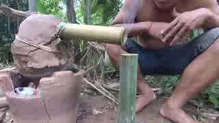 ホモと学ぶバナナ蒸留酒の作り方.Wine Mak