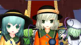 【東方MMD】こいし一家でHappy_Halloween!