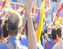 08/05/06胡錦濤来日・チベット問題の平和的解決を求める大集会&デモ行進