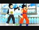 【MMD】悟空とベジータで「Promise」(リメイク版)