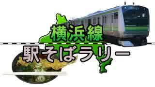 【横浜線駅そばラリー】横浜線の改札内にある立ち食いそば屋巡り