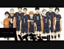 【烏野高校排球部】・ザ・ファイヤー ワイプ付き 【ハイキュー!!】