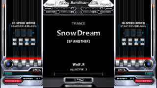 【キー音BMS】 Snow Dream [SP ANOTHER] (AUTO PLAY) / TRANCE
