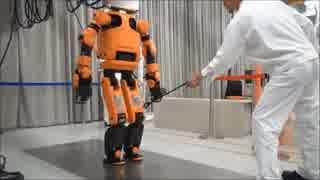 ホンダ開発二足歩行人型災害救助ロボット「E2-DR」!