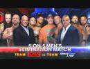 【WWE】男子5対5エリミネーション戦(1/2)【SvS17】