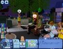 【Sims3】アイドル同士のいちゃいちゃが見たかった【2日目】
