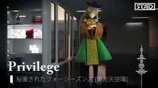 【第9回東方ニコ童祭Ex】Privilege【秘匿
