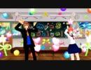 【MMD銀魂】 ハイファイレイヴァー 【沖田&神楽】