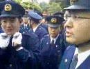 胡錦濤 早稲田に来る。チベット国旗を出したら排除