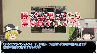 ゆっくり日本競馬史part16【4㎝の差編】