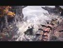 【MHW】 β リオレウス チャアク ソロ 05'28 TA練習中NG動画その2