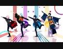 【MMD刀剣乱舞】 ダンスロボットダンス 【一・三・鯰・骨】