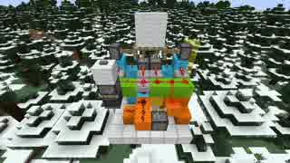 【Minecraft】 わずか6分で「スライド式