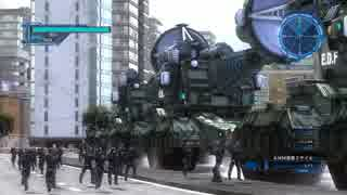 【地球防衛軍5】メーサー部隊vs巨大怪獣
