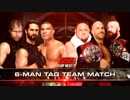 【WWE】アンブロ&ロリンズ&ジョーダンvsジョー&THE BAR【RAW 12.18】