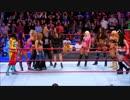 【WWE】サシャ&ベイリー&ミッキーvsアブソリューション【RAW 12.18】