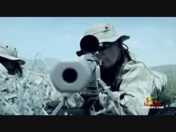 カナダ兵スナイパー 2.4km先のタリバン兵を50口径銃で狙撃 最長 ...