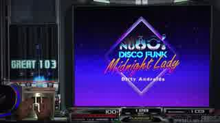 【beatmania IIDX】 Midnight Lady (SPA) 【CANNON BALLERS】 ※手元付き