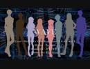 【韓国歌い手8人合唱】 - WAVE 【歌ってみた】