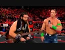 【WWE】ジョン・シナvsアライアス【RAW 12.25】