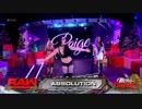 【WWE】サシャ&ベイリー&ミッキーvsアブソリューション【RAW 12.25】