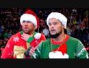 【WWE】ミズトラージのシークレット・サンタ戦【RAW 12.25】