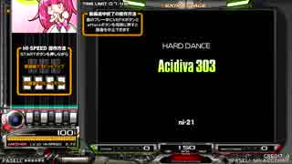 【beatmania IIDX】 Acidiva 303 (SPA) 【CANNON BALLERS】 ※ライン動画