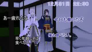 【MMD刀剣乱舞】審神者「はーい、二人