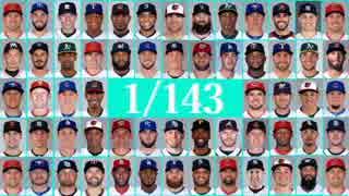 【MLB】2017年版メジャーファンが選ぶ1/143【パワーヒッター部門】